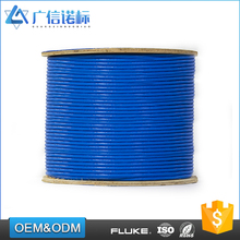 High Quality unplugged Rohs ISO UL Certificated 24AWG 4p plenum cat5e utp ftp lan ethernet cable