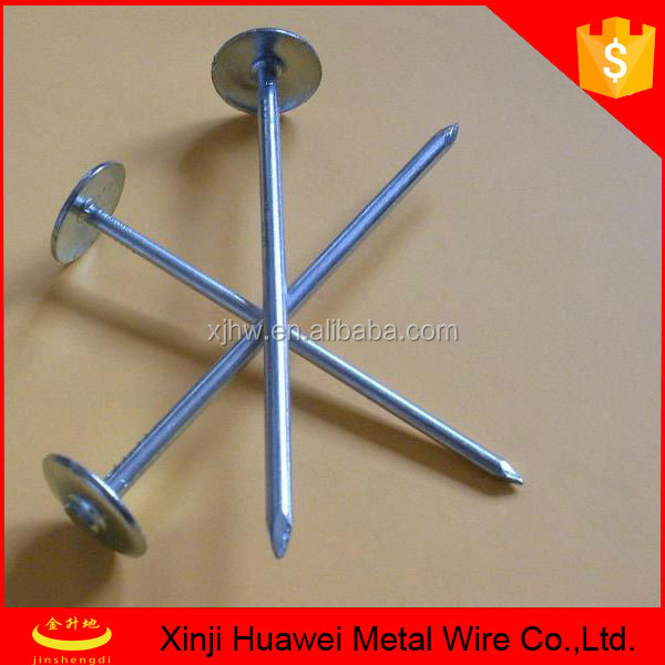high quanlity best price Galvanized carbon steel stainless roofing nails