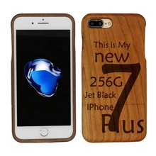 Mobile Parts for iPhone 7 Plus,Full Wooden Protective for iPone 7 Phone Case,Wood Phone Case for iPhone 7 Plus