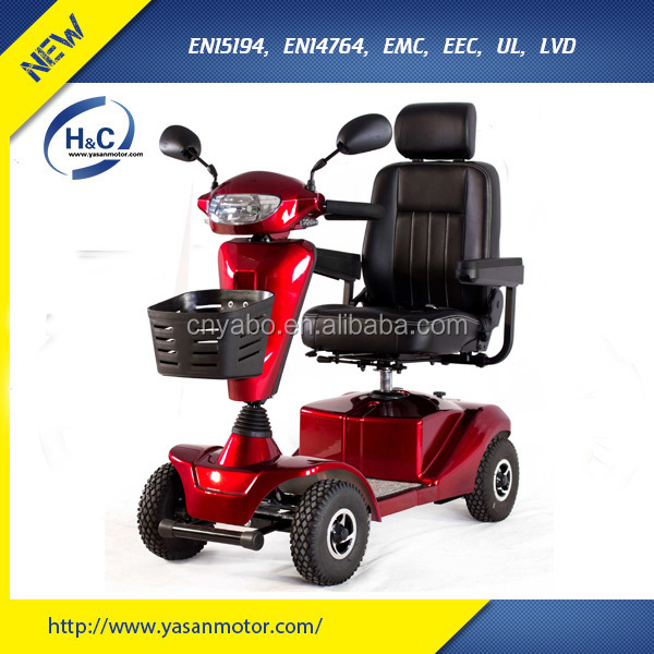 2015 new products 24V/400W handicap electric vehicle for disable people