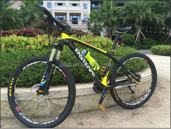 New Arrival!Wholesale factory price complete carbon mtb bike with Carbon 26er mtb bike frame+aluminium+wheelsets+air fork