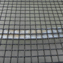 Heavy duty steel crimped wire mesh for shale shaker screen