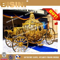 BISINI Princess Cinderella Pumkin Car Luxury
