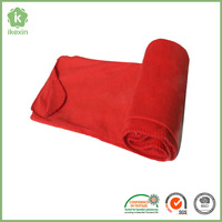 Portable Light Fabric Keep Warm Airplane Blanket