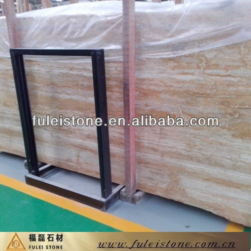 Iran Marble Stone Golden Travertine