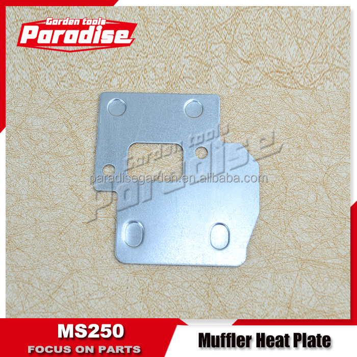 MS250 Muffler metal Cover/Gasoline Chainsaw MS250 Parts