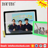 Cheap silicone sticky photo frame colorful soft pvc photo frame