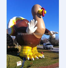 2018 inflatable plastic turkey decorations for christmas