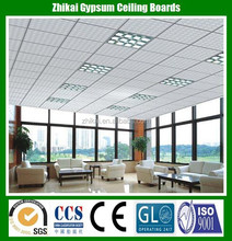 Beautiful decorative mineral fiber false ceiling, sound abosorbing panel for opera house