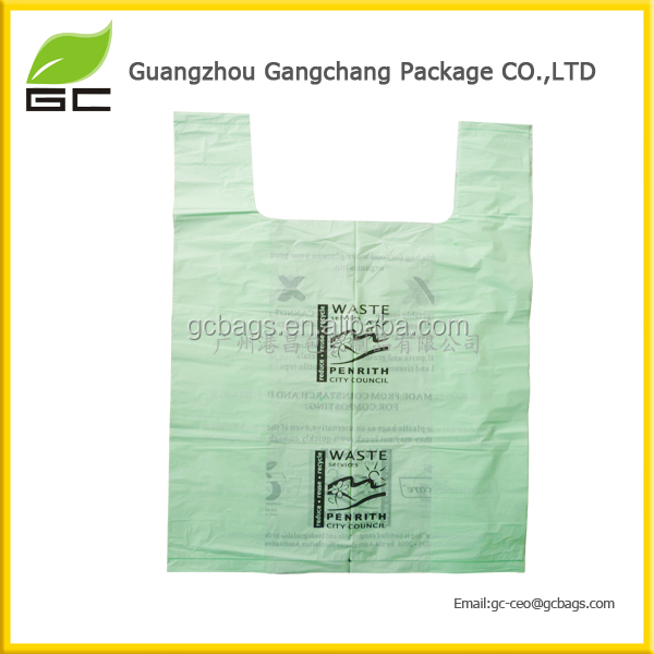 100% biodegradable environmental friendly custom waste bags
