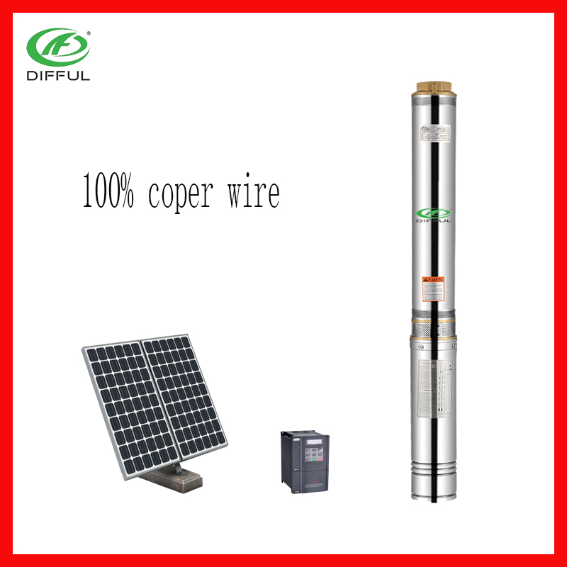 hot sale 4 inch solar water pump/electric water pump with china supplier