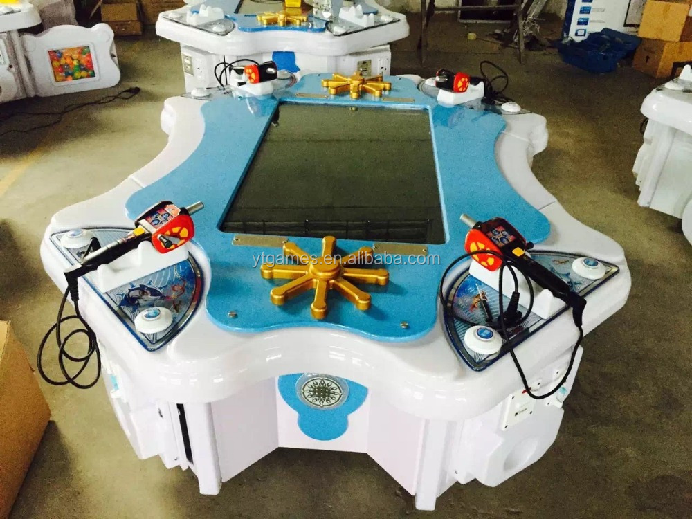 2015 new go fishing video game arcade fishing game machine for sale