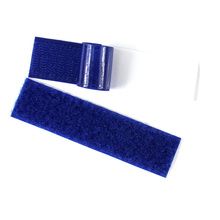 custom magic hook and loop fastener tape with glue for sale