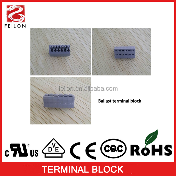 3.5mm pitch widely using in lighting ballast DG250 terminal blocks