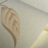 Levinger durable use interior vinyl wallpaper with high quality