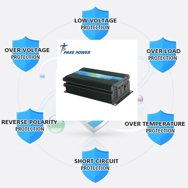 500w power inverter dc 12v ac 220v 500w solar inverter Car power inverter