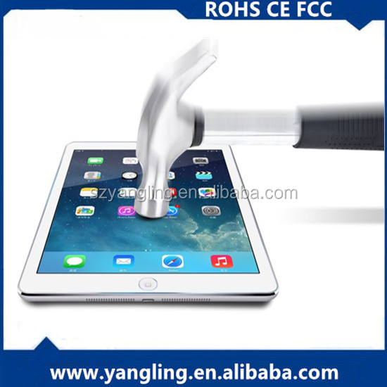 Hot selling ultra smooth mobile phone 9h hardness glass tempered glass screen protector for ipad mini