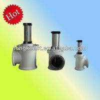 Pneumatic High vacuum baffle valve
