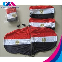 custom polyester flag car seat cover