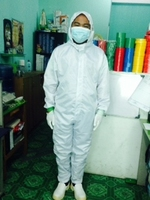 Cleanroom Bunny Suit