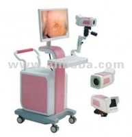 High definition video colposcope mobile or trolley with Sony Camera