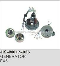 Motorcycle spare parts and accessories motorcycle generator for EX5