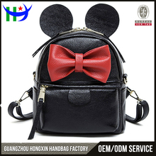 2017 trending products Mickey Mouse childrens backpacks little leather bag backpack