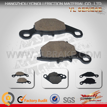 Chinese Manufacturer Excellent Material brake pads Spare Part for Yamaha Motorcycle