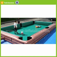 outdoor inflatable snookball game football table game inflatable snooker ball football