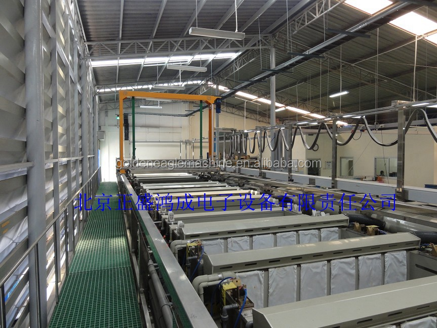 acid zinc plating equipment/acid zinc plating line/acid barrel plating line