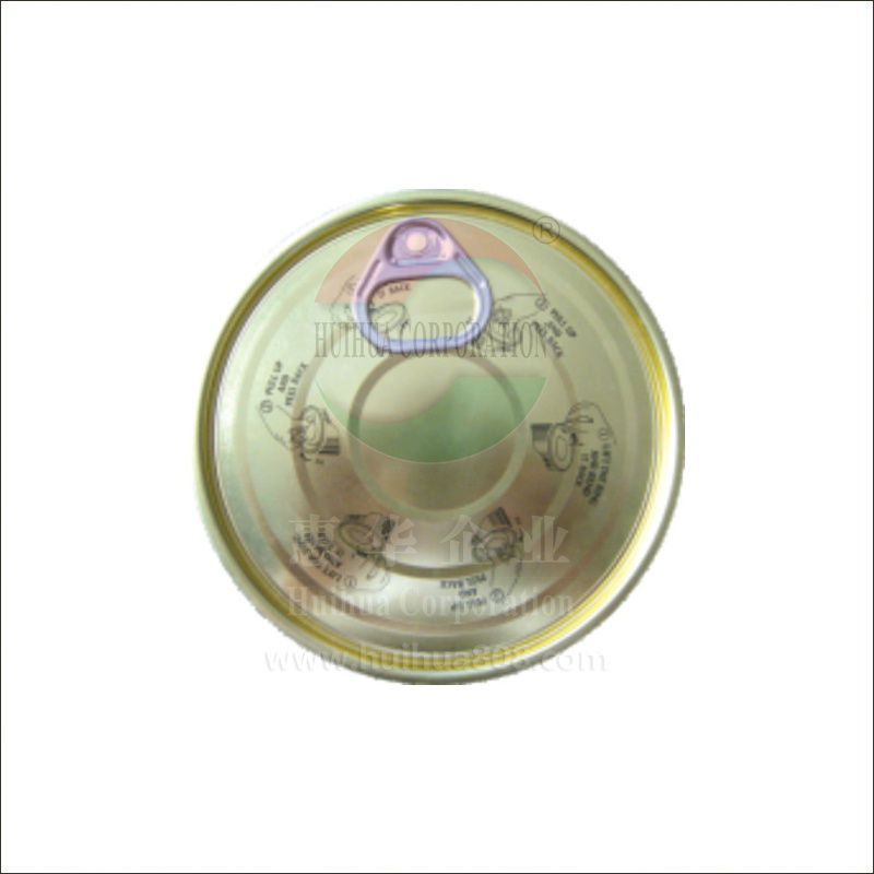 Hot new style contain fish & meat tin plate EASY open cover