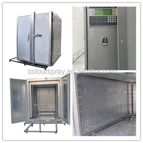 Electrostatic Manual Powder Coating Curing Oven