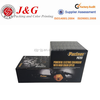 CORRUGATED PAPER FOLDED BOX FOR MACHINE PARTS