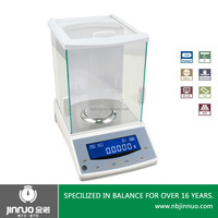 JINNUO 0.0001g Windshield Electrical Magnetic Analytical Balance