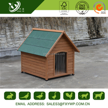 Quality -assured solid wood thinking outside dog house