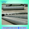 bridge prestressed metal corrugated culvert pipe metal corrugated pipe in the prestressed metal bellows