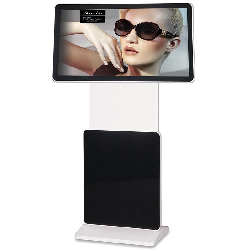 55 inch floor stand lcd publicity screen