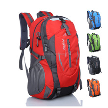 Named brand mountain climbing travel outdoor backpack