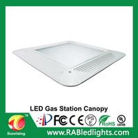Superior meanwell driver gas station canopy 5 years warranty china supplier led flood lamp