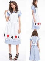 instyles high quality china supplier alice in wonderland costume girls party dresses halloween costumes wholesale in china