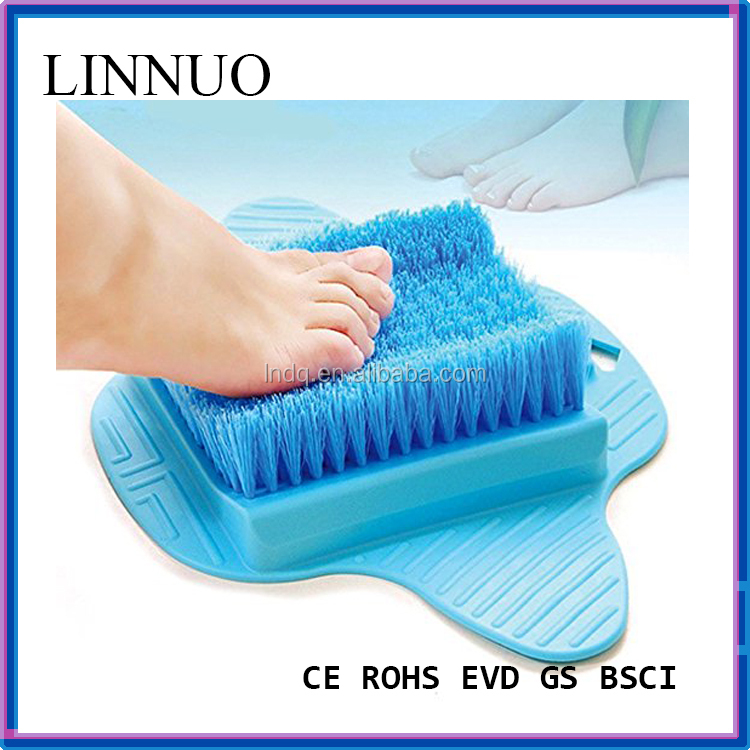 Callus remover and foot massage for shower Foot scrub Brush-Feet scrubber washer