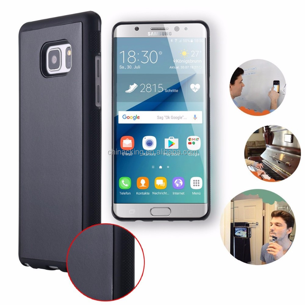 Anti Gravity Nano Suction Magic Sticky Selfie Phone Case Cover For Samsung Note 7