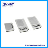 Noosy multi sim dual standby adapter nano to micro sim adapter for Android