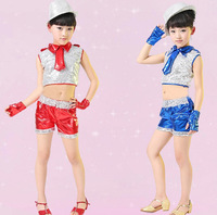 children jazz dance costumes and sequined dance dress wholesale