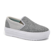 Hot products platform slip-on women casual shoes sponge cake shoe