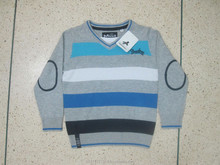 Cheap Shipment Cancle Bangladesh Stock lot 100% Cotton Boys L/S Sweater
