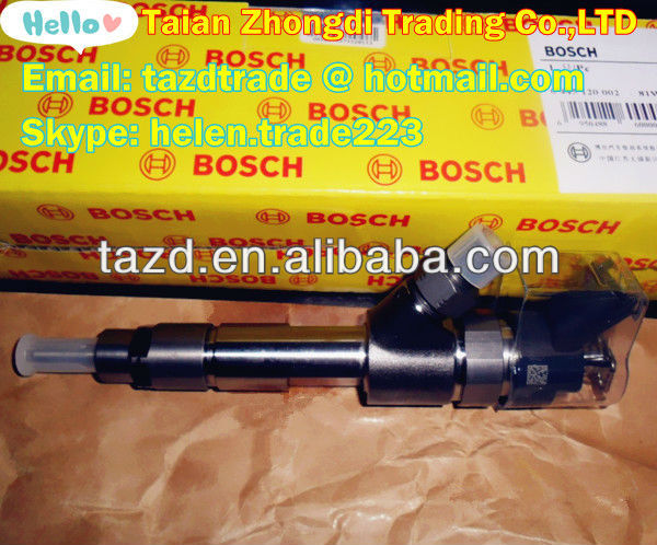 BOSCH Original Common Rail Injector 0445120002 Bosch Package for CITROEN /FIAT/IVECO/PEUGEOT/RENAULT