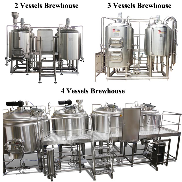 Top standard CE / ISO home craft 200l beer brewing equipment
