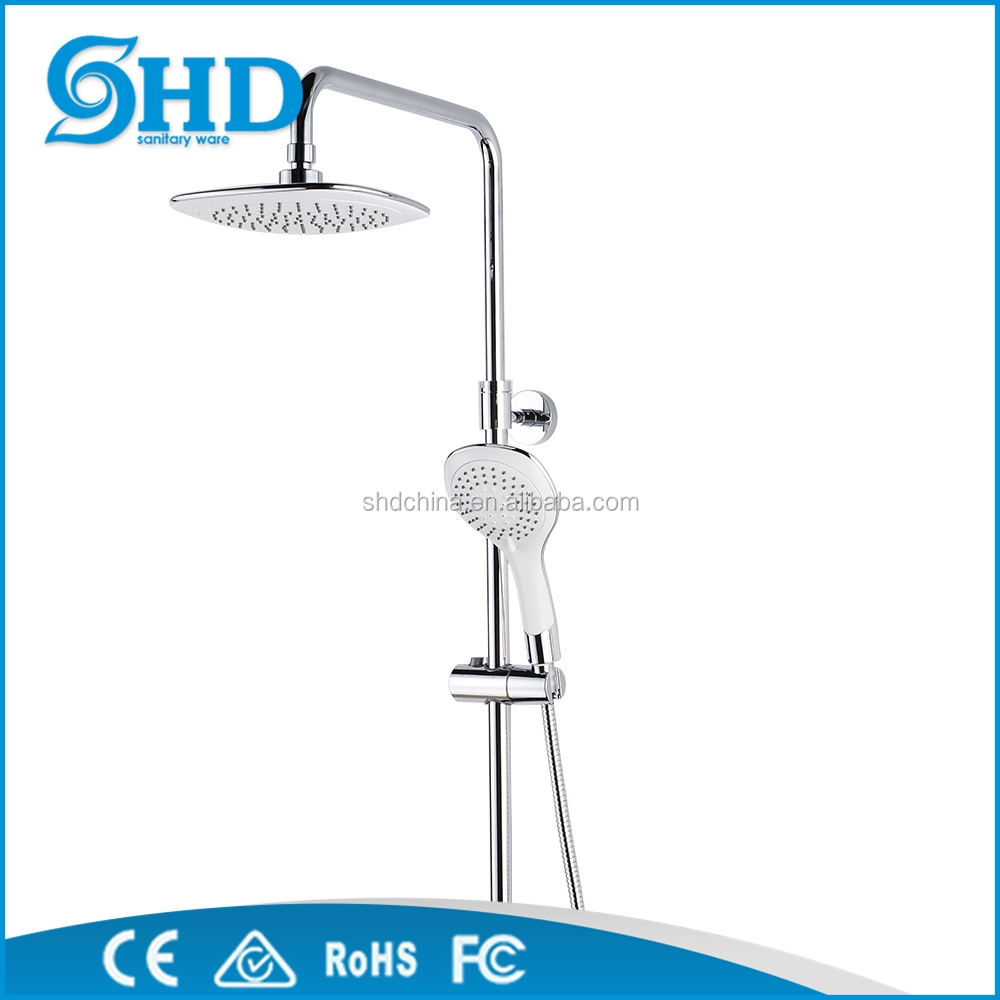 Single Handle Polished chrome Shower Set Bathroom Shower