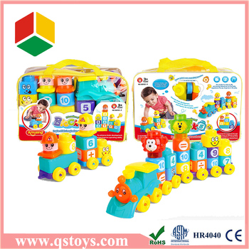 children toys plastic magnetic building blocks with EN71